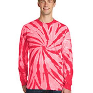 240CY Cyclone Vat-Dyed Pinwheel Long Sleeve T-Shirt Thumbnail