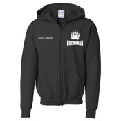 BEZIP - 18600B Youth Heavy Blend™ Full-Zip Hooded Sweatshirt