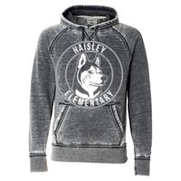 8915 Adult Vintage Zen Fleece Hooded Sweatshirt Thumbnail